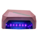 Nordik Beauty Professional Portable Gel Nail Dryer UV & LED Lamp - Metallic Dusty Pink